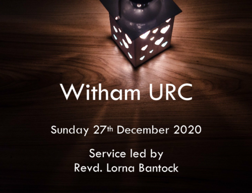 Witham URC Service 27th December 2020